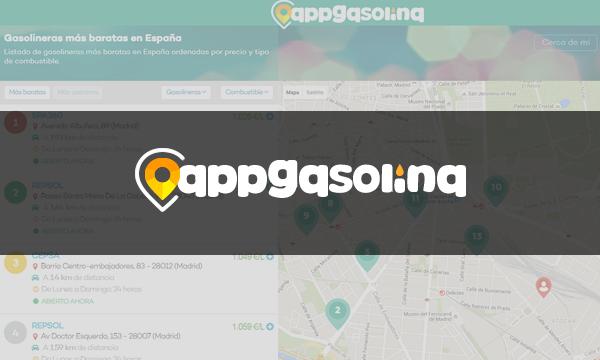 AppGasolina - Encuentra la gasolinera más barata cerca de ti