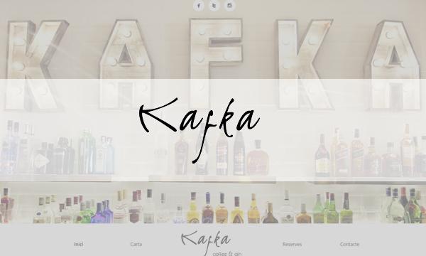 Kafka Coffee & Gin - Cócteles en Quart de Poblet