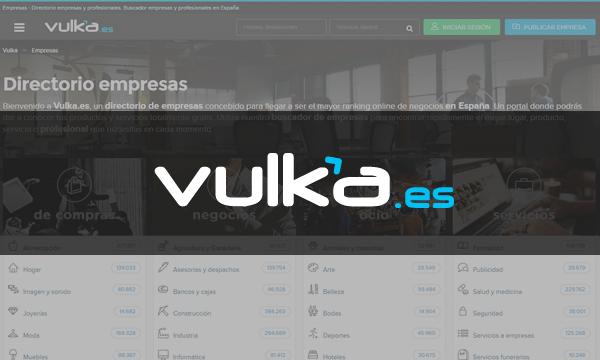 Vulka.es - Directorio de Empresas